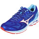 Mizuno Wave Rider 21 Shoes Men Surf the Web/White/Poppy Red